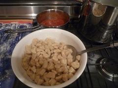 Gnocchis cuits